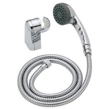 "CHROME EFFECT ""ORTA"" SHOWER KIT"